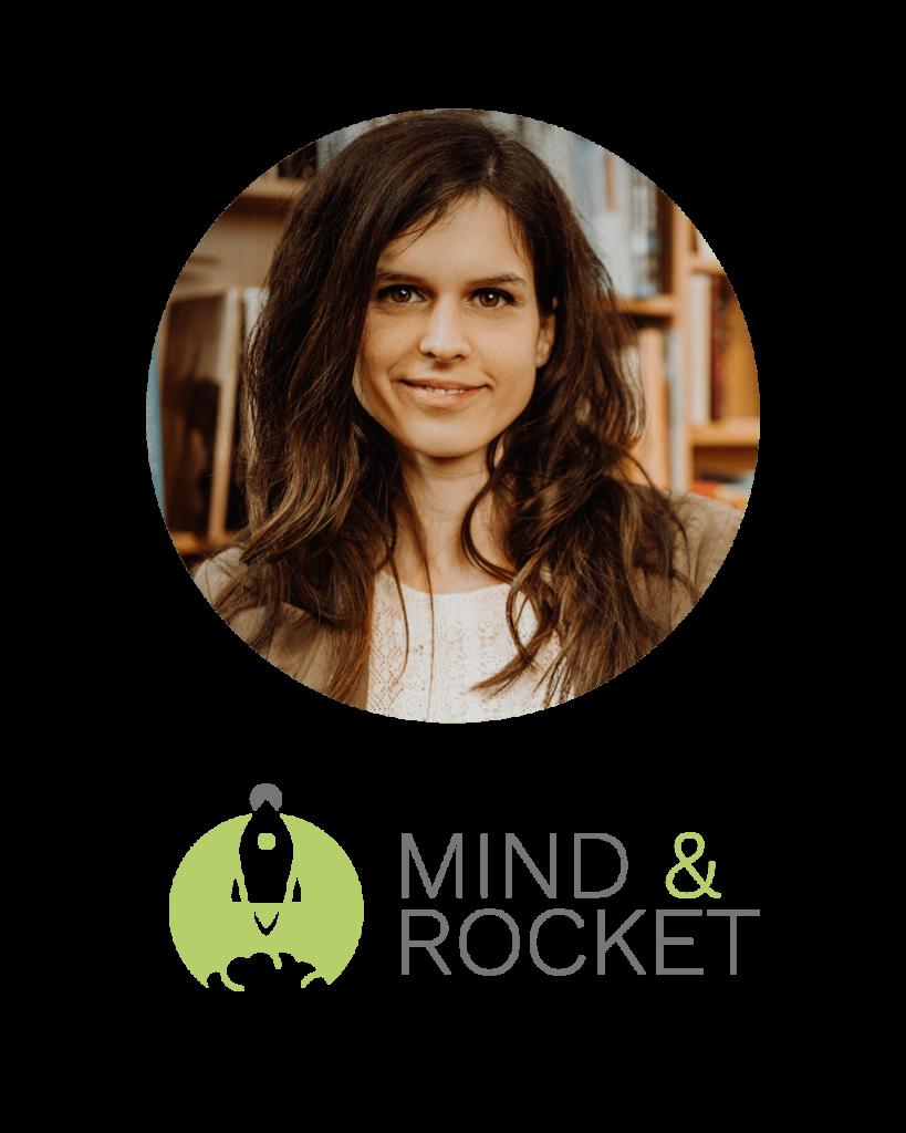 Signatur Mind & Rocket mit Foto Daniela Kaiser